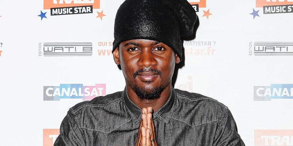 Black M At Trace Music Star & Wati B Press Conference - Paris