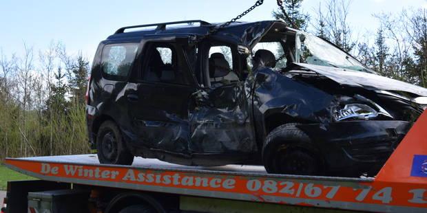 Accident mortel sur la route reliant Mariembourg à Roly - La DH