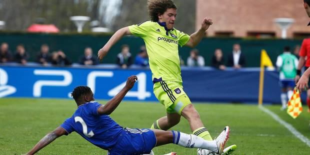 Youth League: Anderlecht chute en demi-finale contre Chelsea (PHOTOS) - La DH