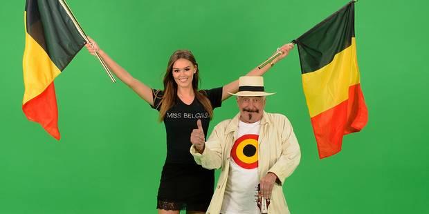Euro 2016: découvrez l'hymne des Diables chanté par Lou Deprijck et Miss Belgique (Vidéo) - La DH