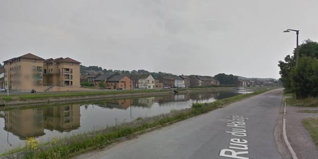 Trois policiers sauvent une femme de la noyade à Charleroi - La DH