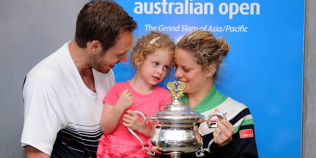 Kim Clijsters et Brian Lynch attendent un 3e enfant - La DH