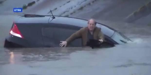 Un journaliste sauve un homme de la noyade en plein direct (VIDEO) - La DH