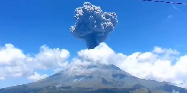 Au Mexique, le volcan Popocatepetl est entré en éruption (VIDEO) - La DH
