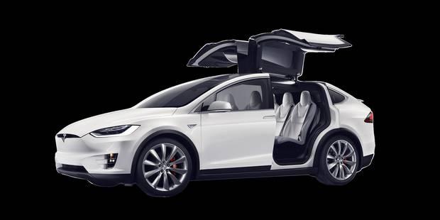 Tesla X: rappel de 2.700 voitures - La DH