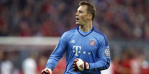 Manuel Neuer se lie avec le Bayern jusqu'en 2021 - La DH