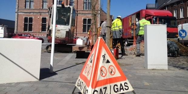 Fuite de gaz à Frasnes: évacuation de la place de l'hôtel de ville (PHOTOS) - La DH