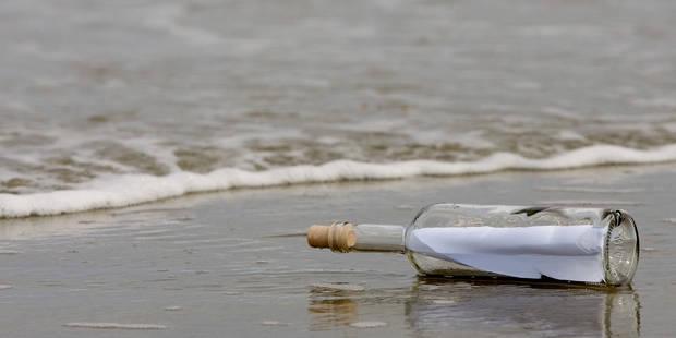 La plus vieille bouteille jetée à la mer découverte 108 ans après - La DH