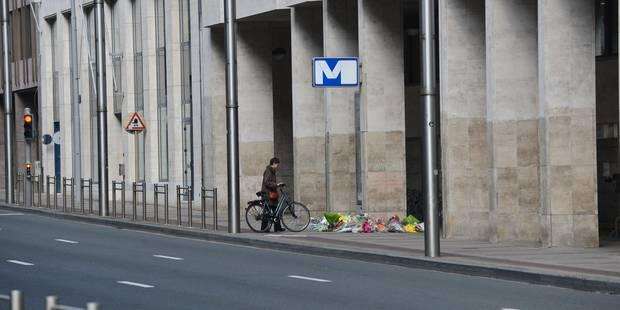 Attentats de Bruxelles: la station de métro Maelbeek rouverte lundi, les trains de retour à Zaventem - La DH