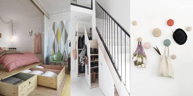 10 conseils pour optimiser les petits espaces. Black Bedroom Furniture Sets. Home Design Ideas