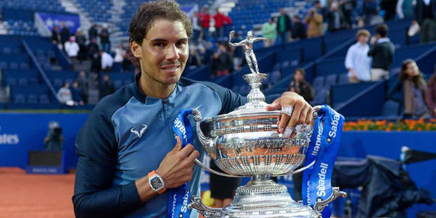 Rafael Nadal remporte son 9e titre à Barcelone - La DH