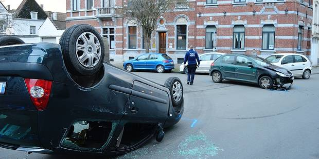 Tournai: moins d'accidents graves, mais trop d'alcool au volant - La DH