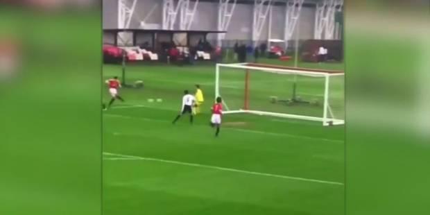 Le superbe but d'un espoir de Manchester United (VIDEO) - La DH
