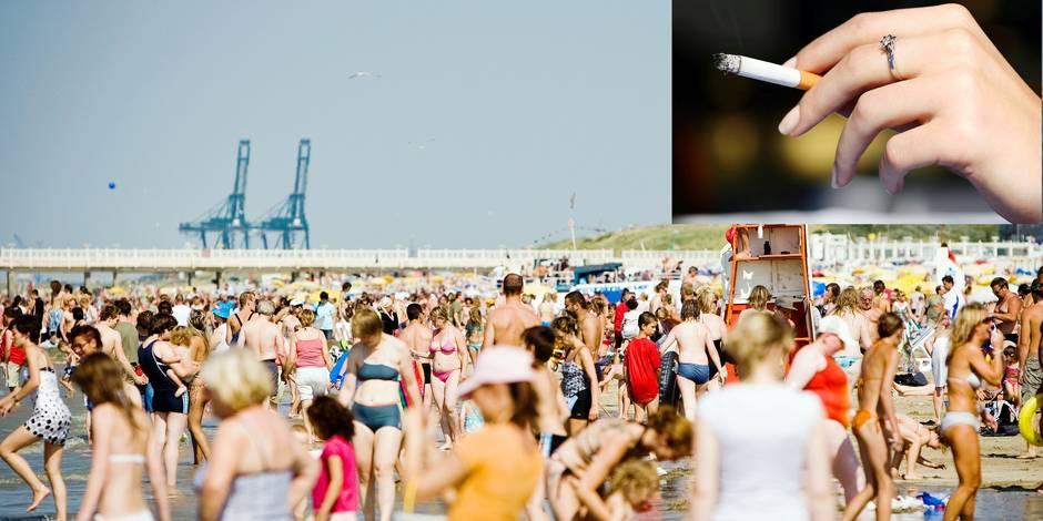 Exclusif: il sera bientôt interdit de fumer sur les plages belges ! - La DH
