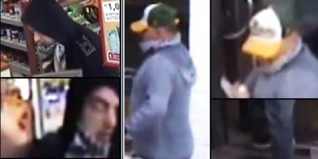 Appels à témoins après un vol à main armée à La Louvière: reconnaissez-vous ces deux individus ? (VIDEO) - La DH
