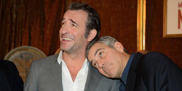 Mais pourquoi George Clooney aime-t-il autant Jean Dujardin ? - La DH