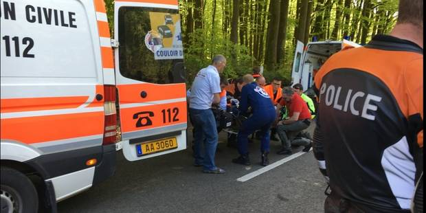La 3e étape de la Flèche du Sud annulée, 14 coureurs blessés dont six plus sérieusement - La DH