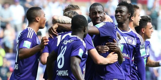 Anderlecht peut toujours rêver du titre grâce à Okaka (2-1) - La DH