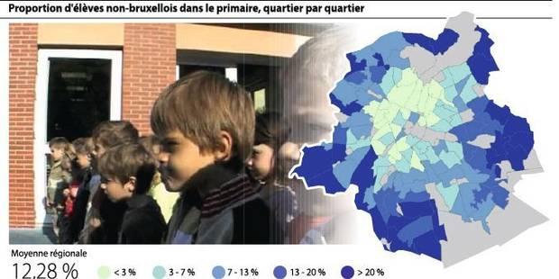 12 % d'élèves de primaire n'habitent pas la Région - La DH