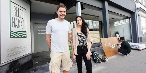 La DH a visité le premier supermarché 100 % belge du pays à Ixelles (PHOTOS) - La DH