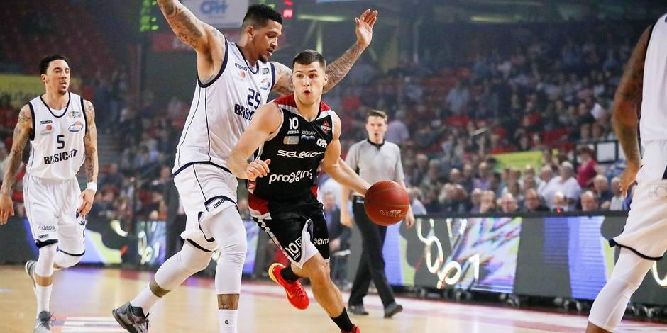 Basket PO 1/4 Spirou-Brussels