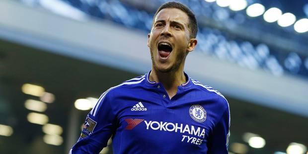"""J-27: le goal d'Eden Hazard contre Tottenham élu """"But de l'année"""" de Chelsea - La DH"""