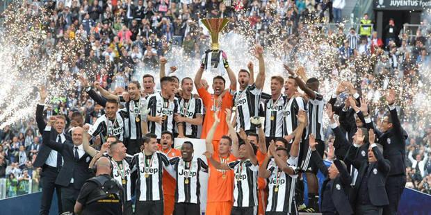Serie A: la Juventus finit en beaut�