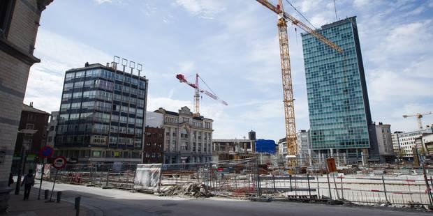 Rive Gauche à Charleroi ne sera pas inauguré avant février 2017 - La DH