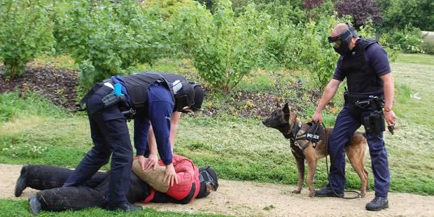 Péruwelz: les policiers se mettent en scène - La DH