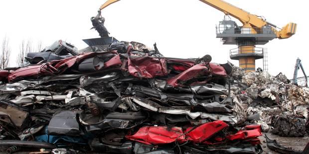 L'Audi A3 neuve volée a été broyée - La DH