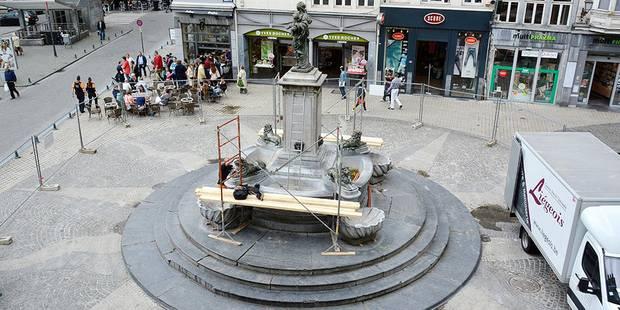 Liège: la fontaine de retour ! - La DH