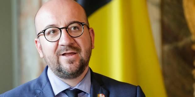 """Charles Michel réagit après la manifestation: """"Oui au dialogue, oui aux réformes"""" - La DH"""