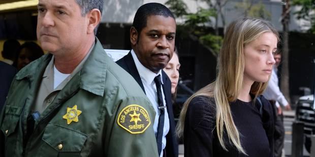 Amber Heard affirme que son époux Johnny Depp l'a frappée - La DH