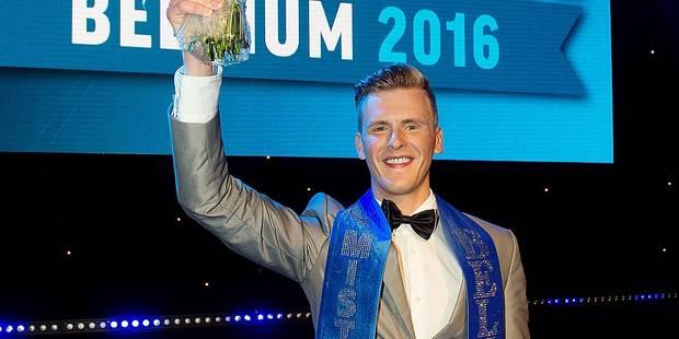 Raf est Mister Gay Belgium 2016 - La DH