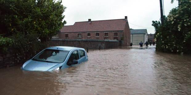 Terrible inondation en Wallonie: la commune de Vezon sous plus d'un mètre d'eau! (PHOTOS & VIDEO) - La DH