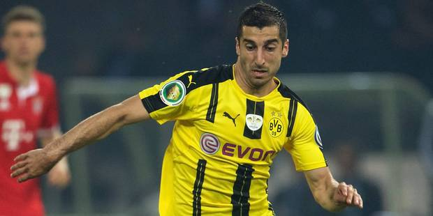 Mkhitaryan refuse de prolonger avec Dortmund - La DH