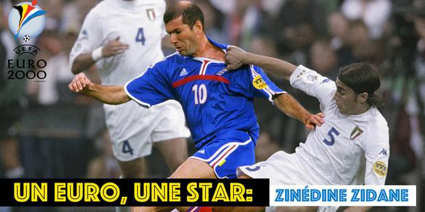 Euro 2000: le roi Zizou sur son trône - La DH