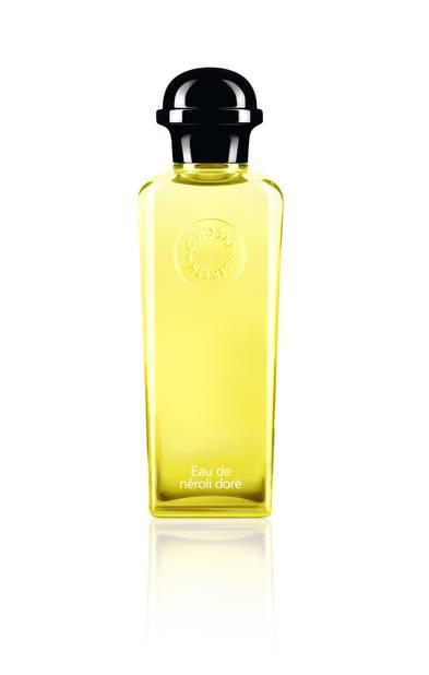 Hermès Parfums, la Cologne eau de néroli doré. Un bonheur qui sent le soleil. PS : les femmes peuvent le piquer ! 100ml - 92€