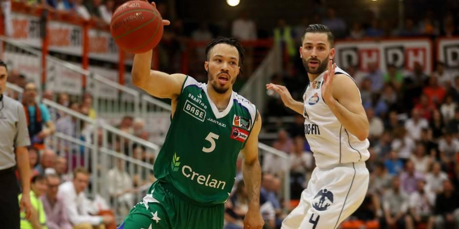 Basket PO 1/2 Game 4 Brussels-Alost