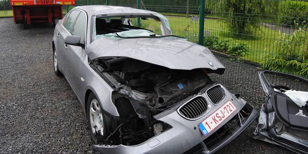 Accident grave à Gembloux: les victimes ont 80 et 83 ans - La DH