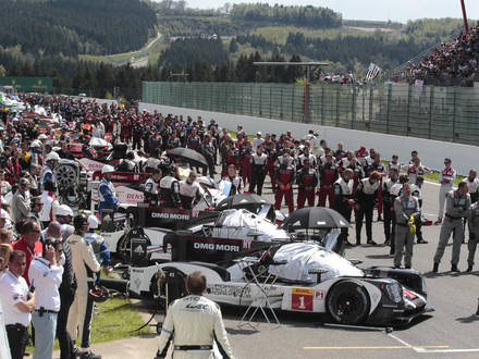 Illustration picture shows the WEC 6 Hours of Spa Francorchamps racing event, Saturday 07 May 2016. BELGA PHOTO GEORGES DE COSTER