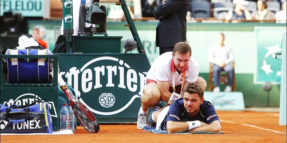 Sans les kinés, les spectacles ne seraient pas si physiques à Roland Garros - La DH