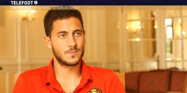 Eden Hazard se livre dans une longue interview pour Téléfoot (VIDEO) - La DH