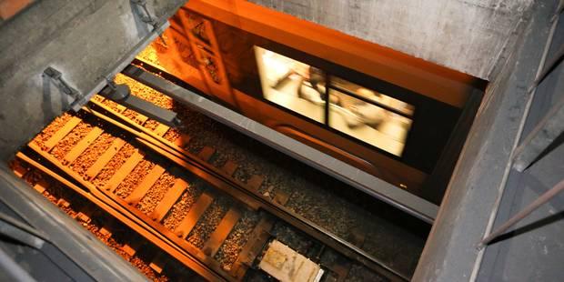 """Nouvelle polémique autour du chantier Rogier: """"Un couloir donne accès direct aux voies de tram et de métro..."""" (PHOTOS) ..."""