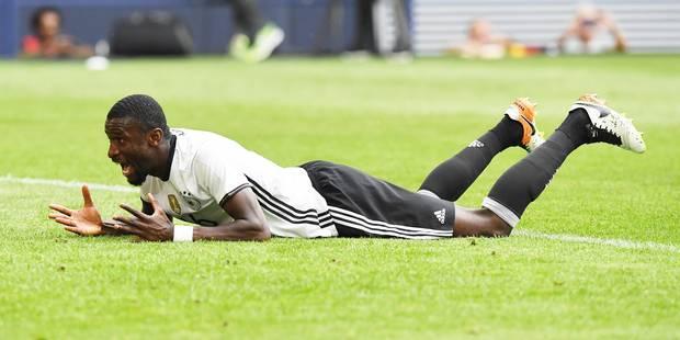 Euro 2016 : l'Allemagne perd son défenseur Antonio Rüdiger, victime d'une déchirure des ligaments - La DH