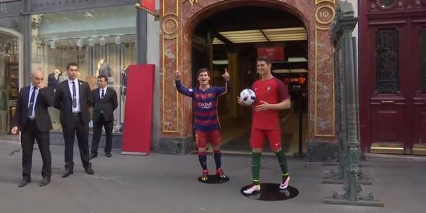 Lionel Messi au Musée Grévin: ce n'est pas une réussite - La DH