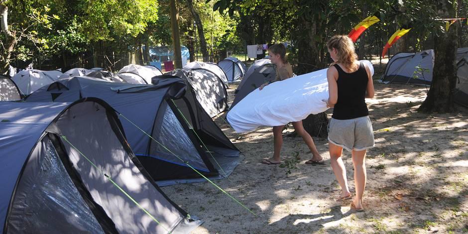 Devillage: le camping au Brésil était illégal ! - La DH