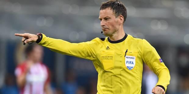 Un des meilleurs arbitres du monde pour Belgique-Italie - La DH