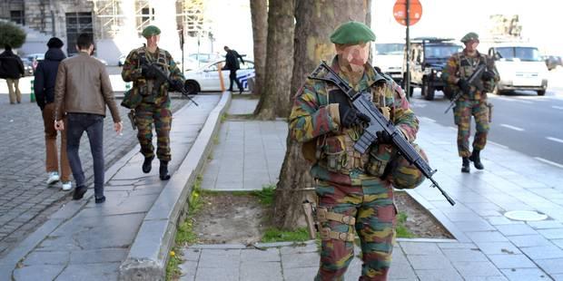 Le coût des militaires en rue s'envole: 34 millions en six mois - La DH