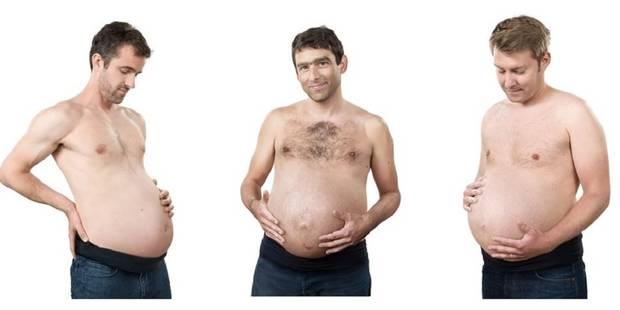 Grande première : trois futurs pères révèlent leur grossesse au monde - La DH
